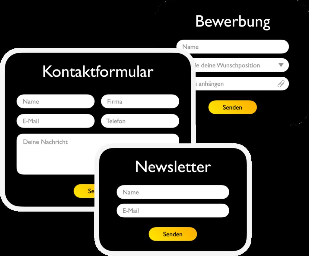 Formulare und Integrationen