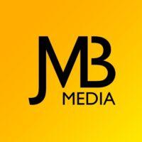 JMB MEDIA Logo - gelber Hintergrund